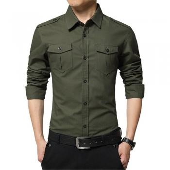 Men Button-Ups Dress Shirts