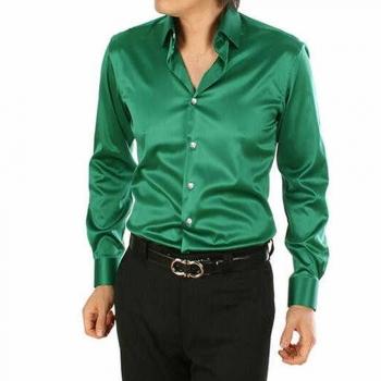 Silk Button-Ups Dress Shirts
