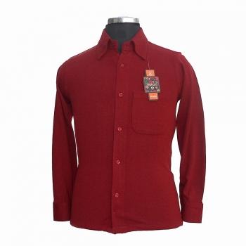 Woolen Button-Ups Dress Shirts
