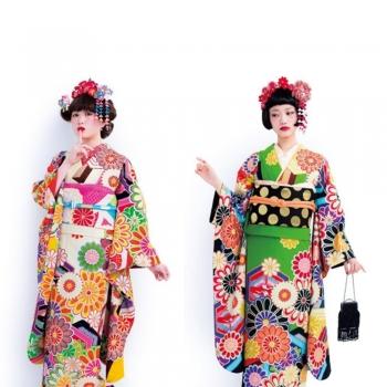 Furisode Kimonos   Caps