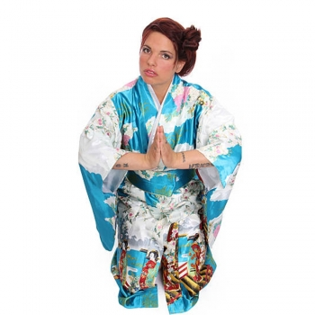 Hikizuri Kimonos   Caps