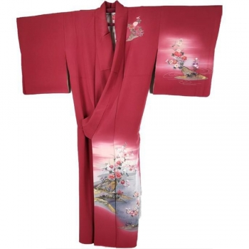 Houmongi Kimonos   Caps