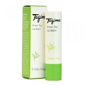 Green tea lip balms