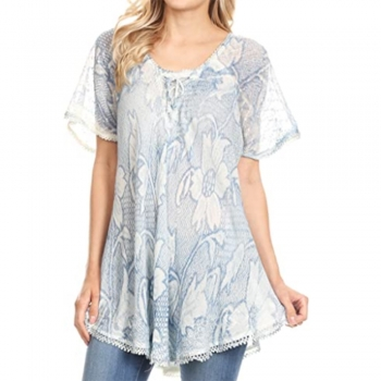 Cap sleeves Shirts and Blouses