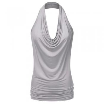 Draped blouse Tops