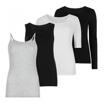 Long Sleeve Vest   Camisoles