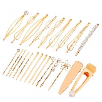 Geometric Hair Pins