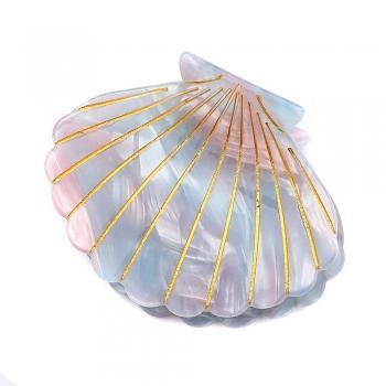 Seashell Claw Clips